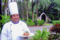 Chef Josue Cime has been awarded by the Maya Foundation In Laakeech for his exquisite Mayan Culinary Excellence