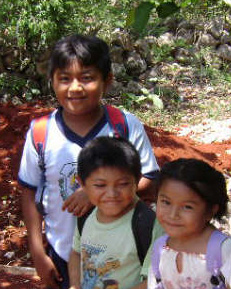 Yucatan Adventure dedicated to the Maya Children in Yucatan