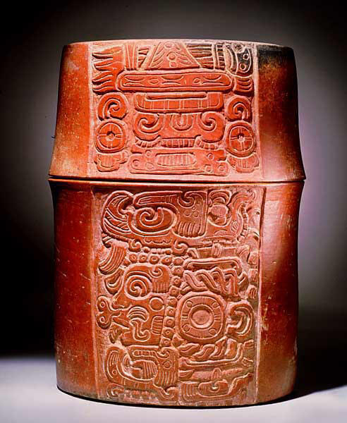 Ancient Mayan Pottery