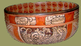 Patricia Martin Mayan Pottery at Toh Boutique, Chichen Itza, Yucatan
