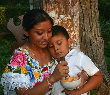 Caring for Mayan rural families by building Maya Children's Nutrition Centers