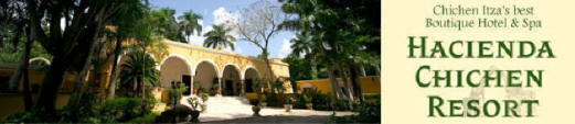 Hacienda Chichen, Chichen Itza, Yucatan, Mexico's Top Green Resort and Mayan Eco-Spa