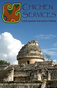Visit Chichen Services Vacation Portal for great discount hotel prices and Eco-Cultural Vacation Packages