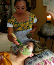 Mayan Spa Skin Care and Relaxing Spa treatments at Yaxkin Spa