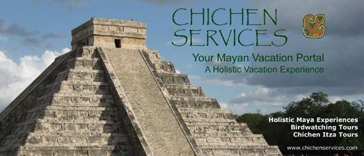 Chichen Services offers you great Mayan Eco-Cultural Vacations, Hotel Discount Rates, and Special Yucatan Vacation Packages