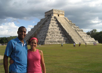 Come be a Maya Foundation In Laakeech Volunteer and stay near the famous Mayan Kukulkan Temple at Chichen Itza, Yucatan, Mexico, while you help in any of our various volunteer programs!