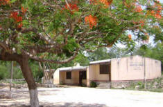 Old Xcalacoop Elementary School - Remodeled thanks to the efforts of the Maya Foundation In Laakeech, Yucatan, Mexico
