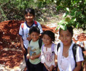Mayan Children Volunteer Programs and Social Work by Maya Foundation In Laakeech, Yucatan, Mexico