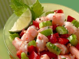 Mayan Shrimp Ceviche Recipe