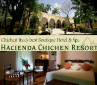 Hacienda Chichen Resort is Yucatan's Best Green Boutique hotel dedicated to support the Mayan communities welfare.